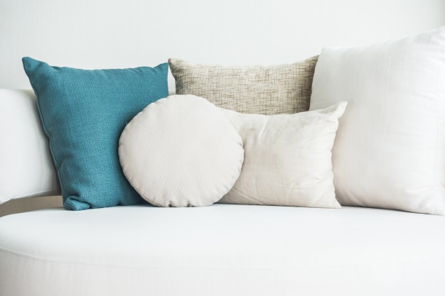 Couches With Cushion Mockup PSD File