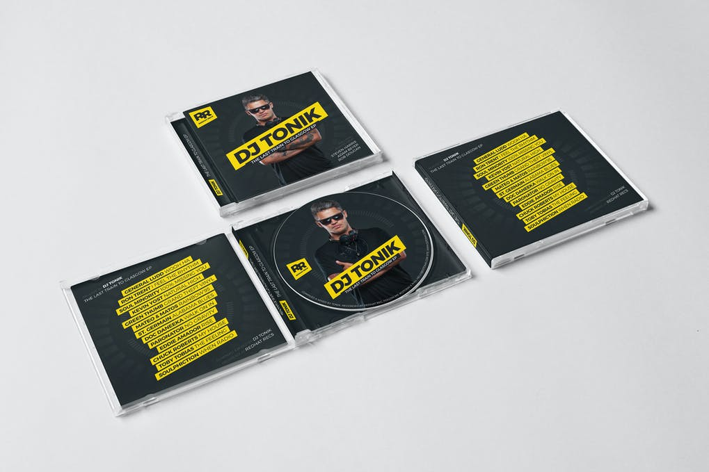 DJ Mix / Album CD / Digital Cover Artwork
