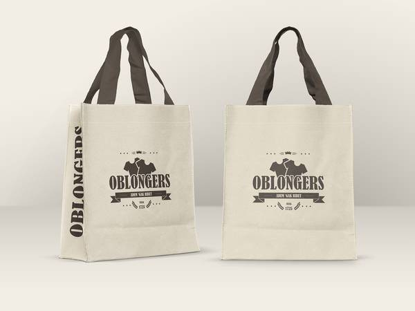 Free Canvas Shopping Bag Mockups