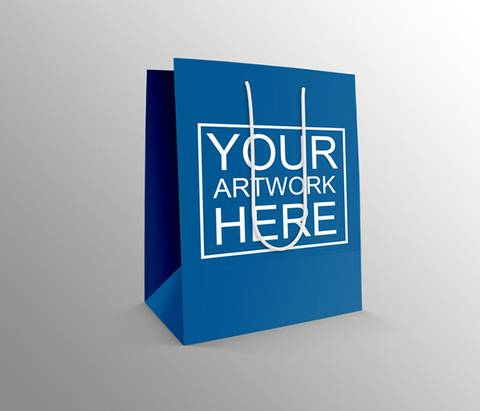 Free Retail Shopping Bag Mockup