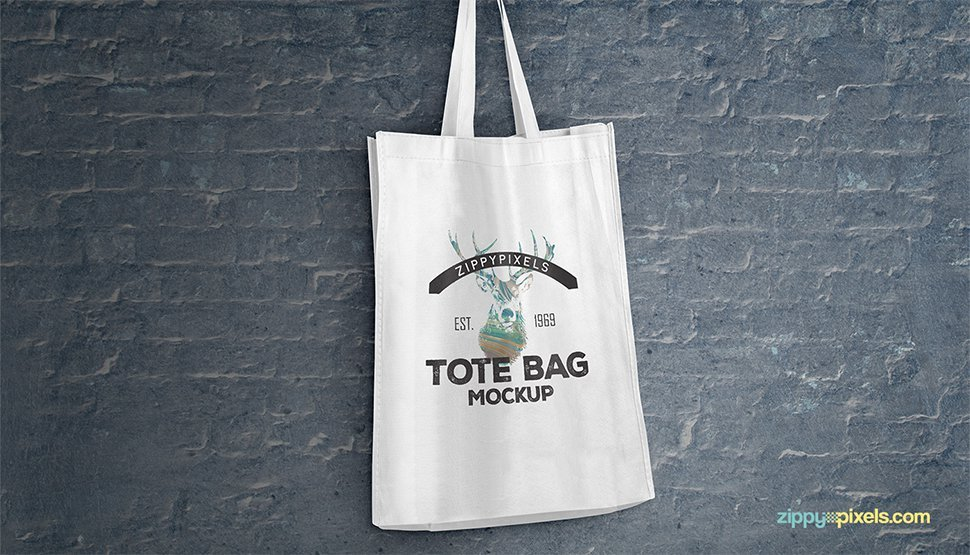 Free Tote Shopping Bag Mockups