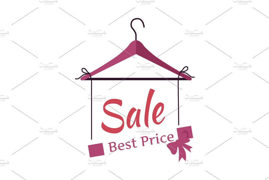 Fully Editable Sales Hanging Banner in
