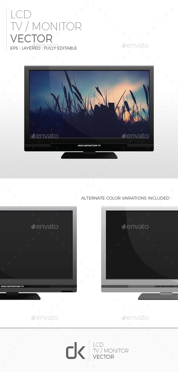 LCD TV (3-Pack)