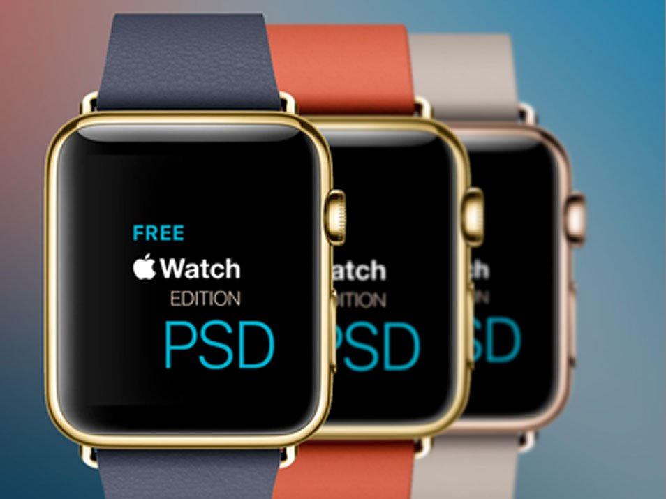 New Edition Apple Watch PSD