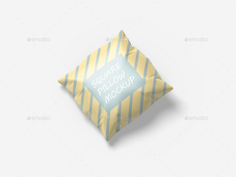 Pillow Mockup - Square