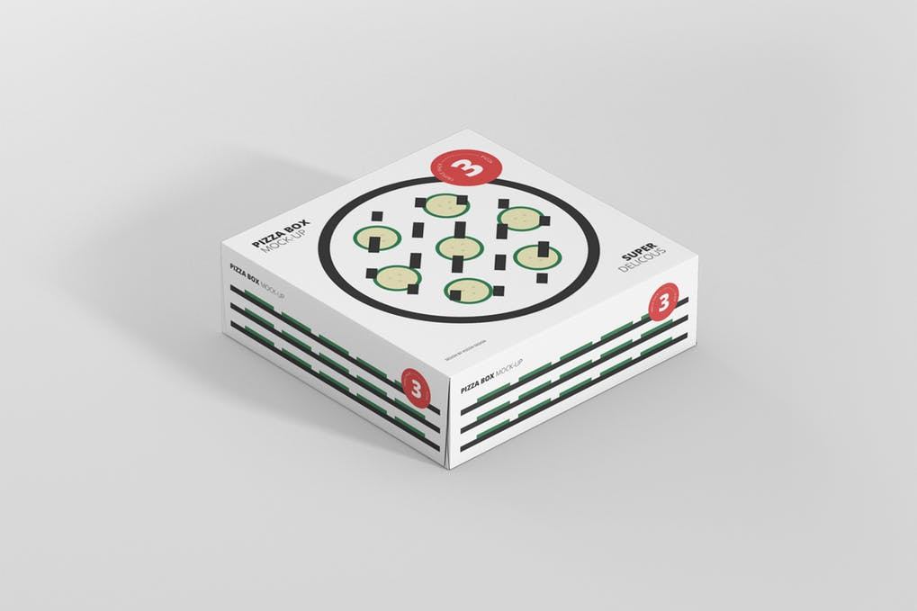Pizza Packaging Box PSD