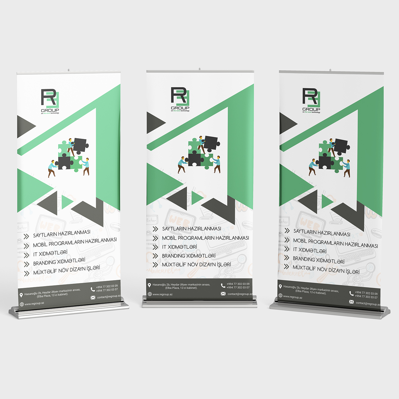 Roll-up design for REgroup company