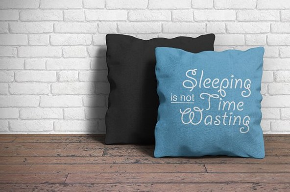 Smart Layered Pillow Mockup PSD