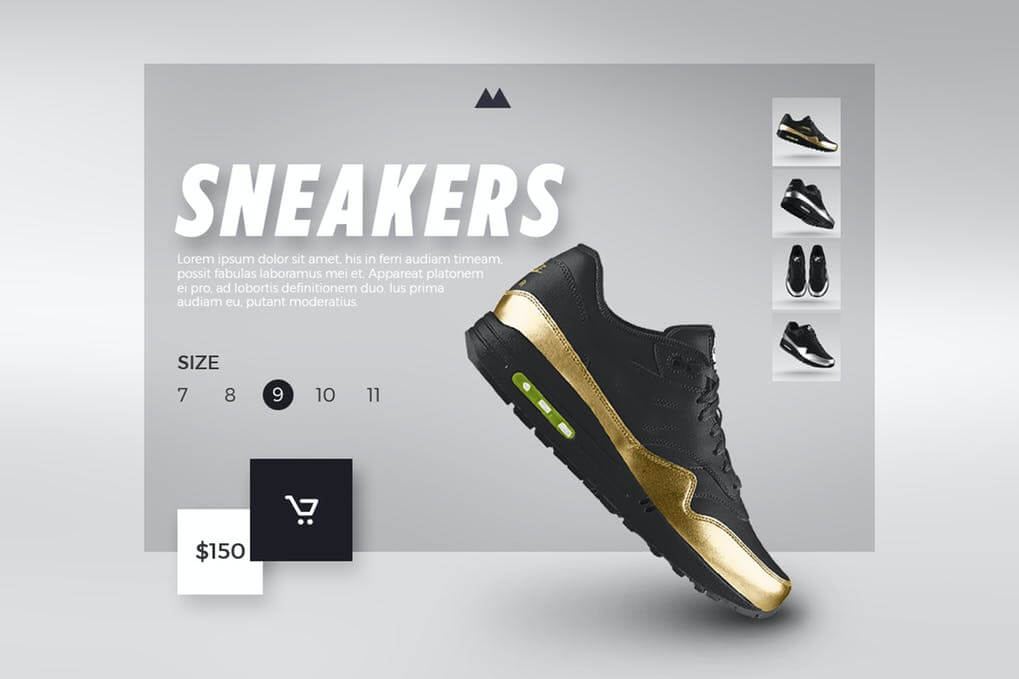 Sneakers Shop - eCommerce