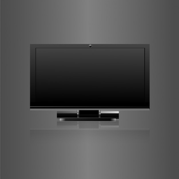 TV Monitor Mockup PSD
