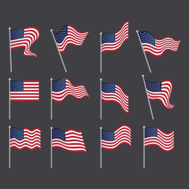 United States Flags Collection