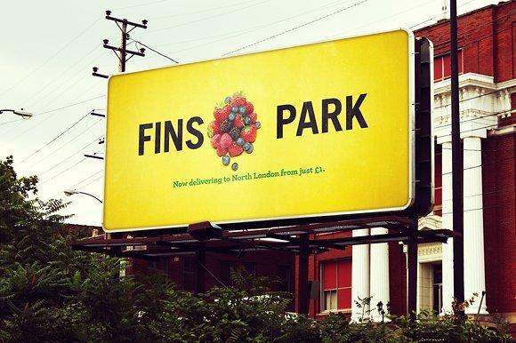 Yellow Color Shade Billboard Mockup