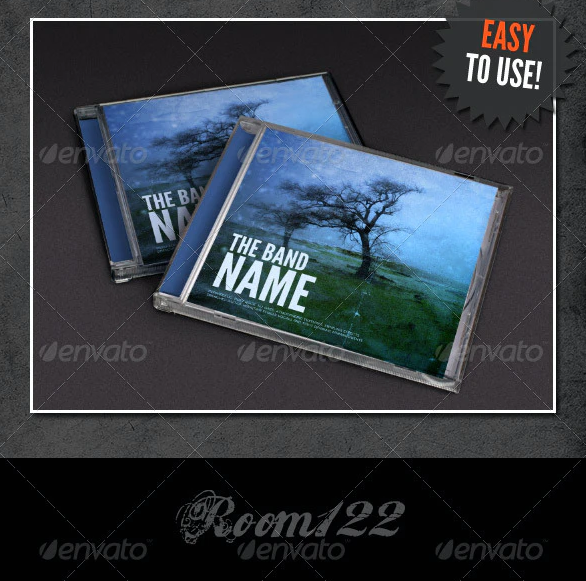Album Cover - Jewel Case Mock-Ups