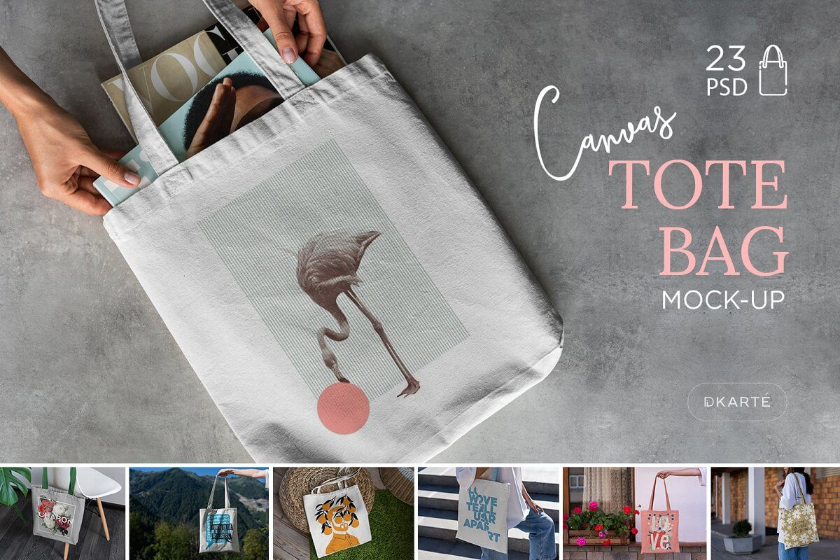 Canvas Tote Bag Mock-Up Lifestyle (1)