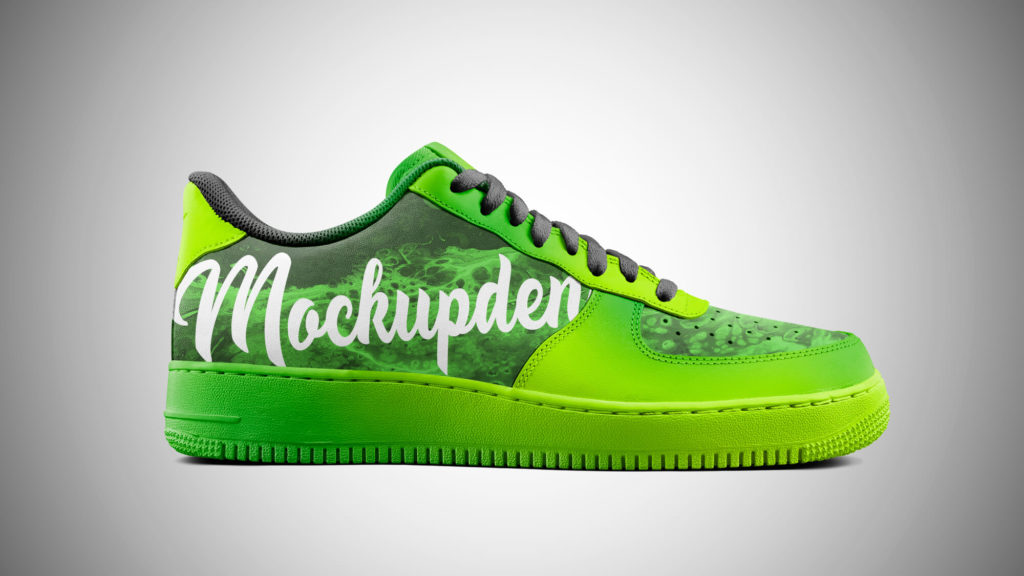 Design Free Sneakers Mockup PSD Template