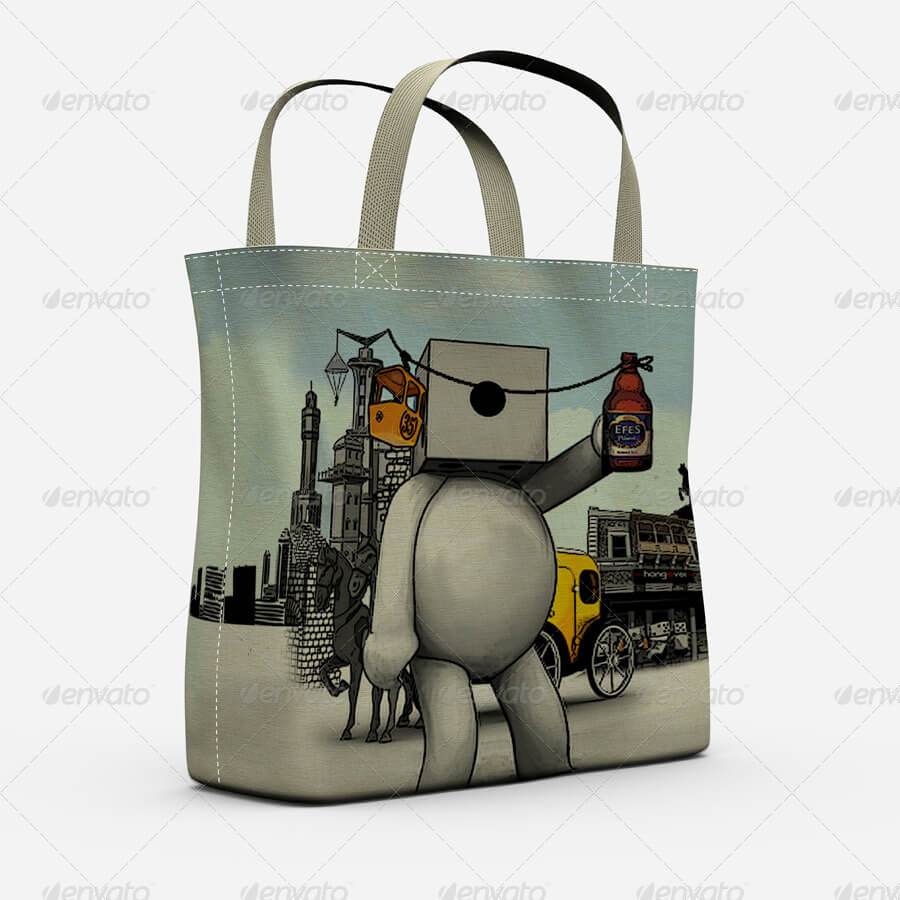 Eco Bags Mock Up