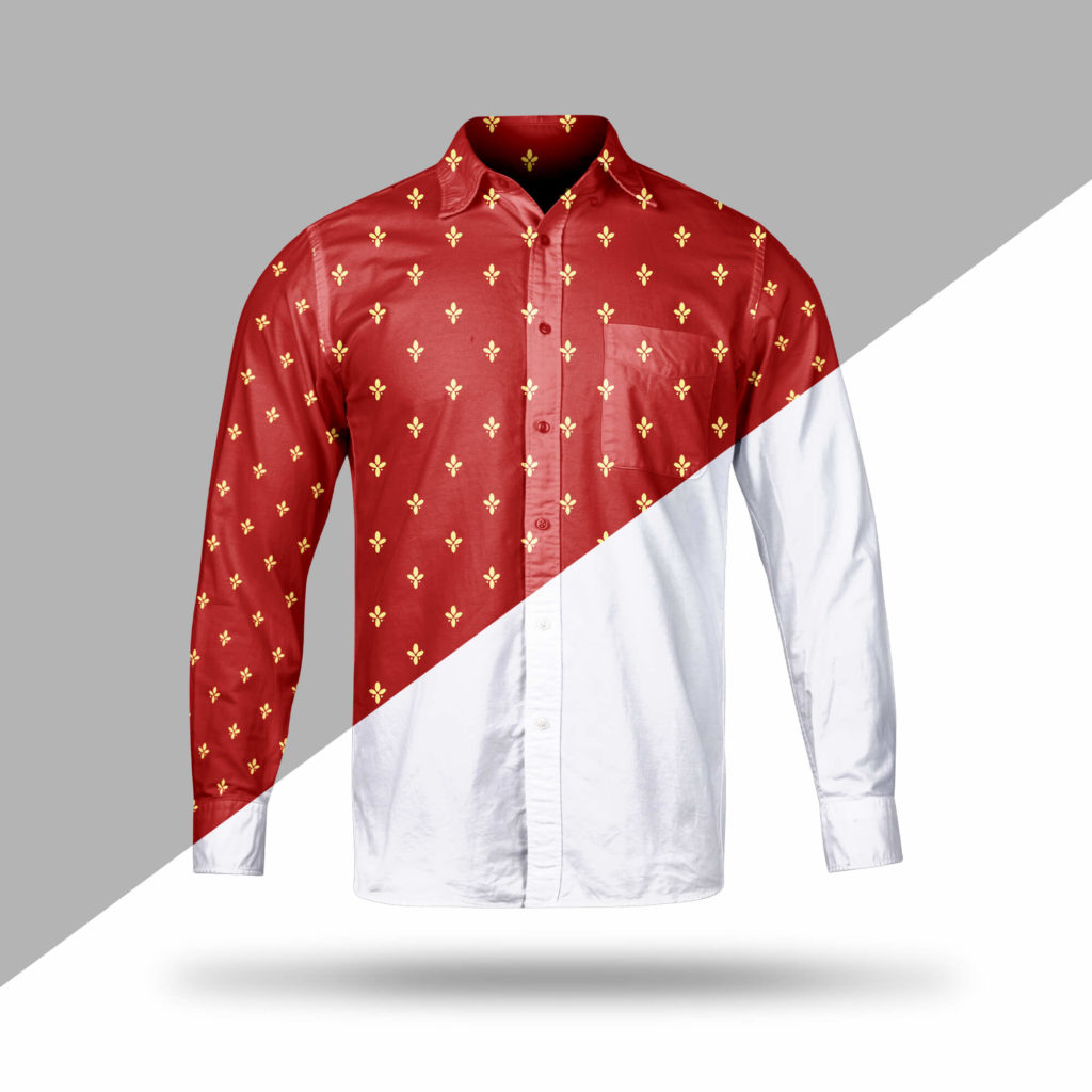 Editable Free Collar Shirt Mockup PSD Template