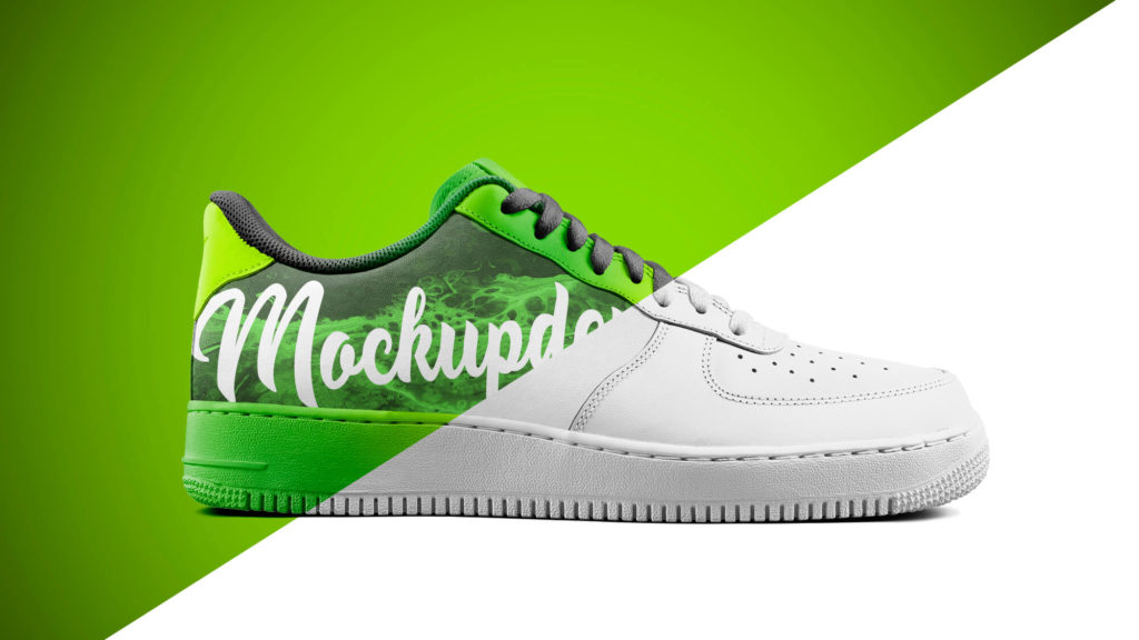Editable Free Sneakers Mockup PSD Template