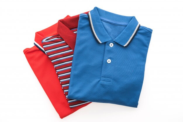 Fashion polo shirt for men Free Photo