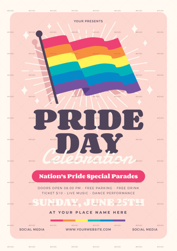 Pride Day Flyer