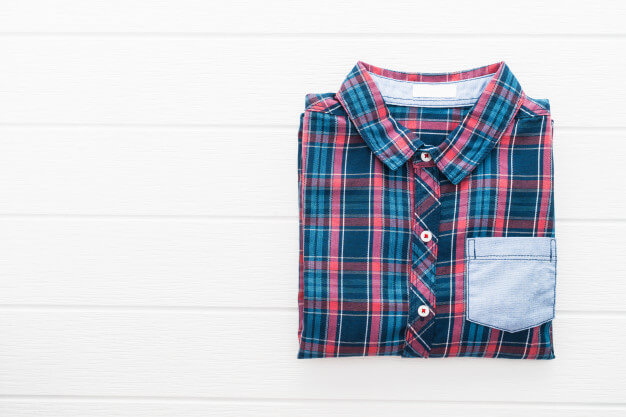 Tartan or plaid shirt Free Photo