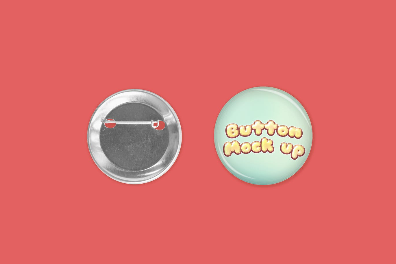 Button Template Mock Up