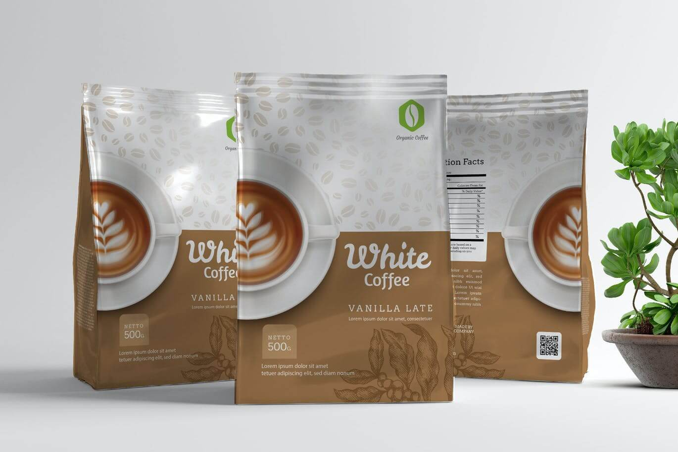 Coffee Pouch Packaging Template V2 (1)