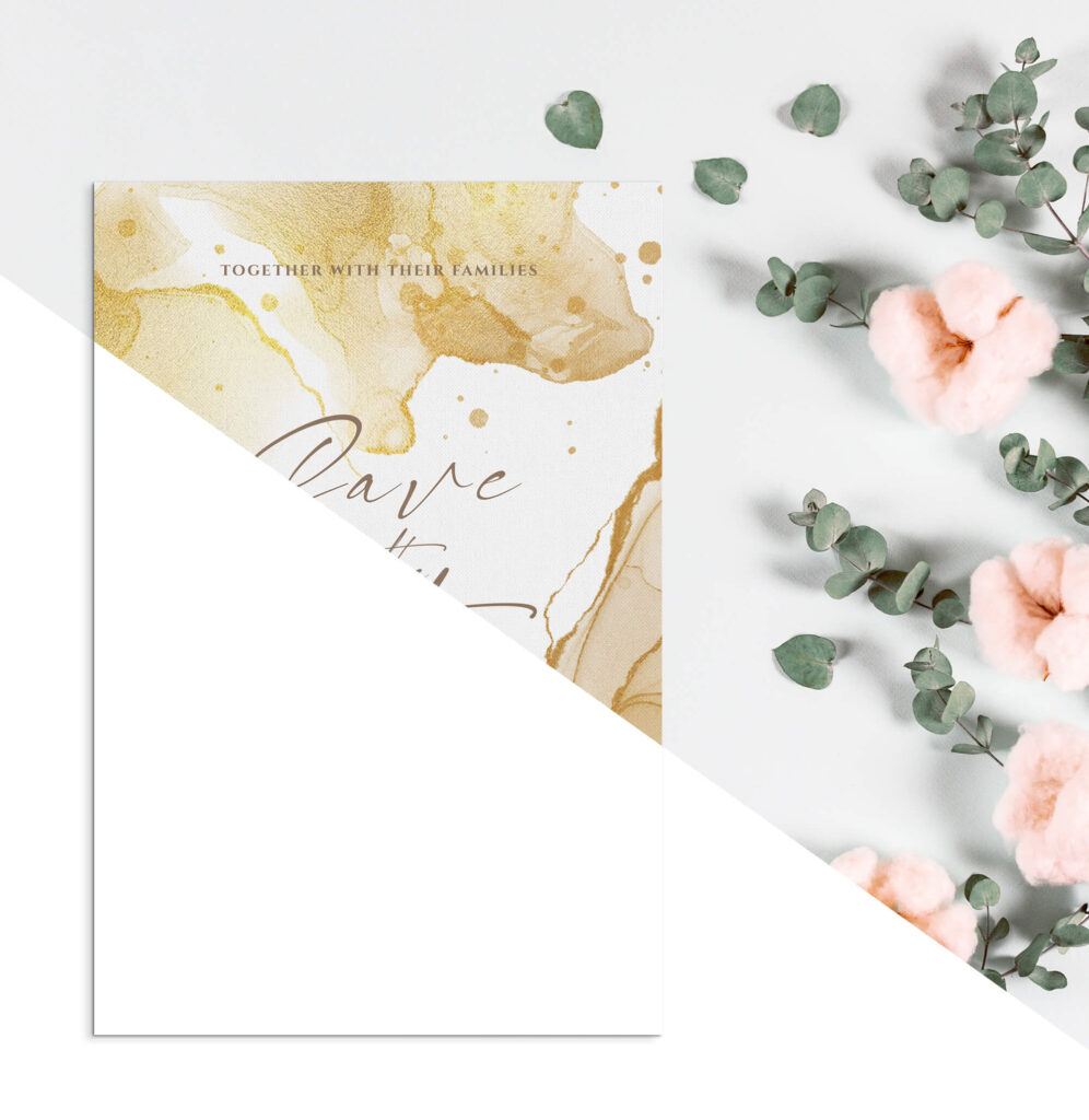 Editable Free Wish Card Mockup PSD Template