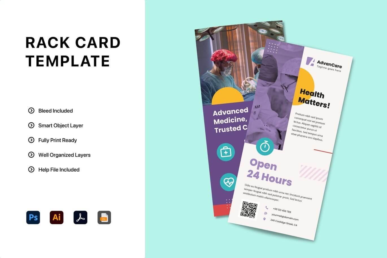 Flyer Rack Card