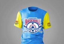 Free Baseball T Shirt Mockup PSD Template