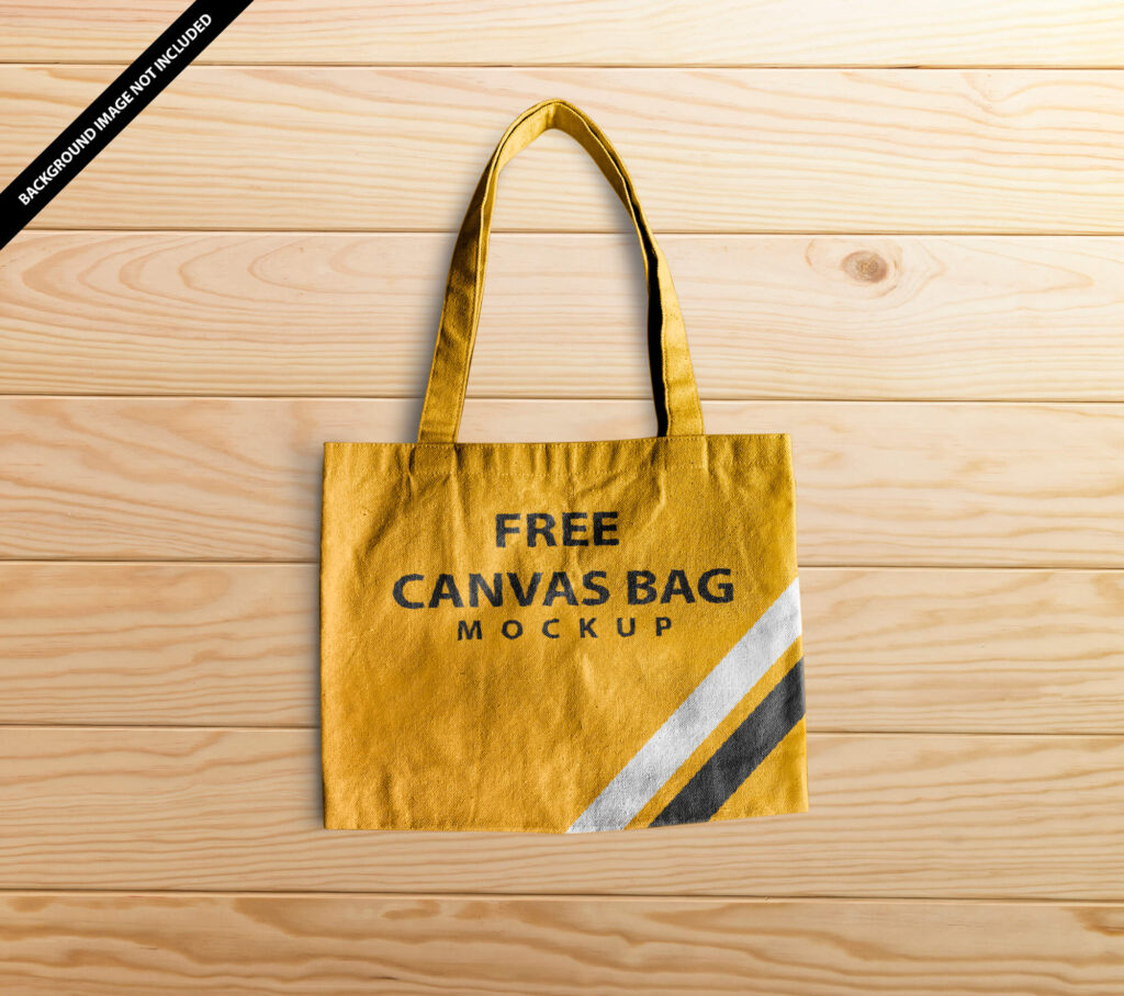 Free Canvas Bag Mockup Vol 2 PSD Template