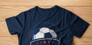 Free Soccer T Shirt Mockup PSD Template