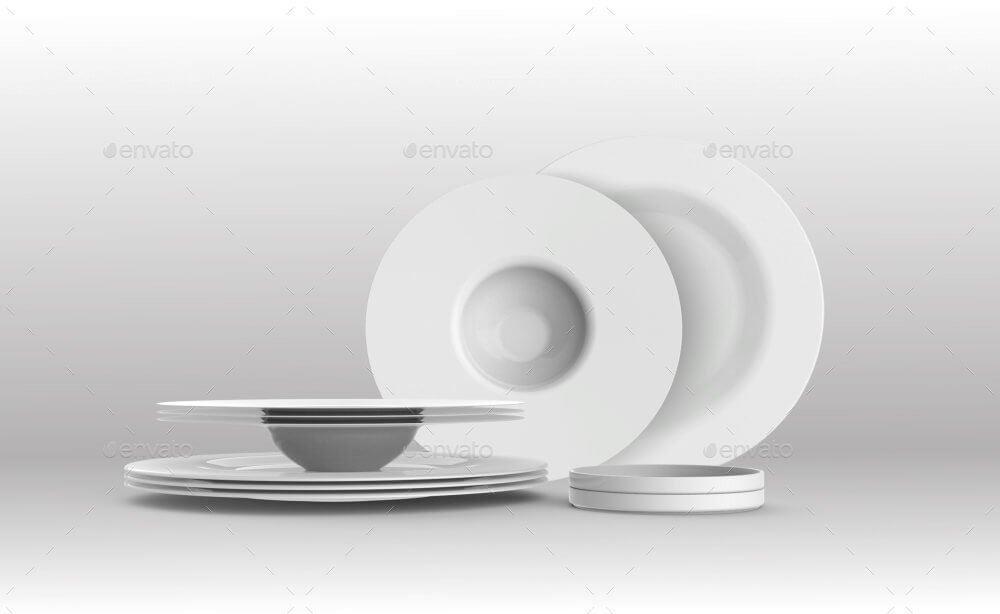 Kitchen Utensils Dishes Mockup (1)