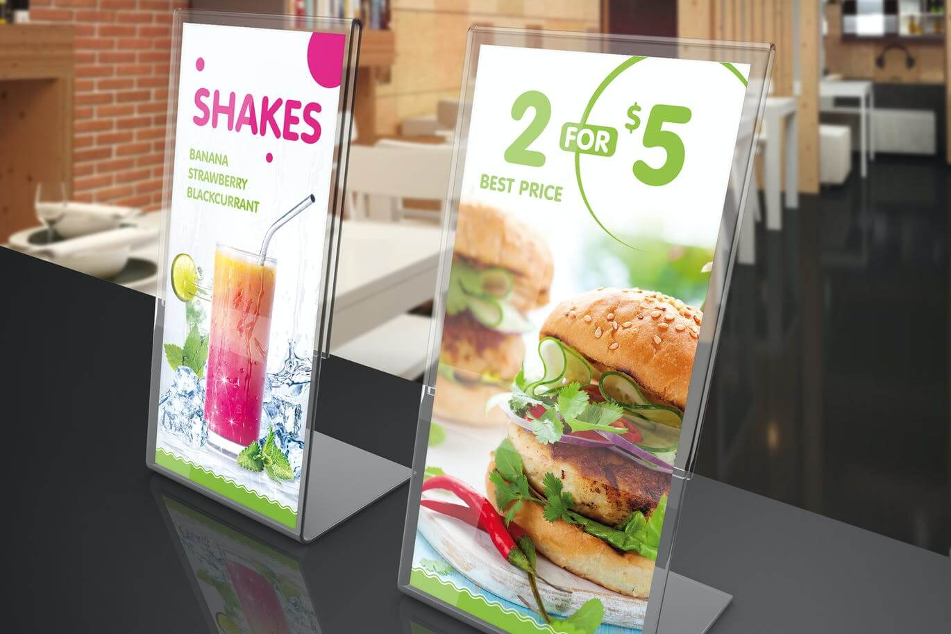 Table Tent Mock-Up