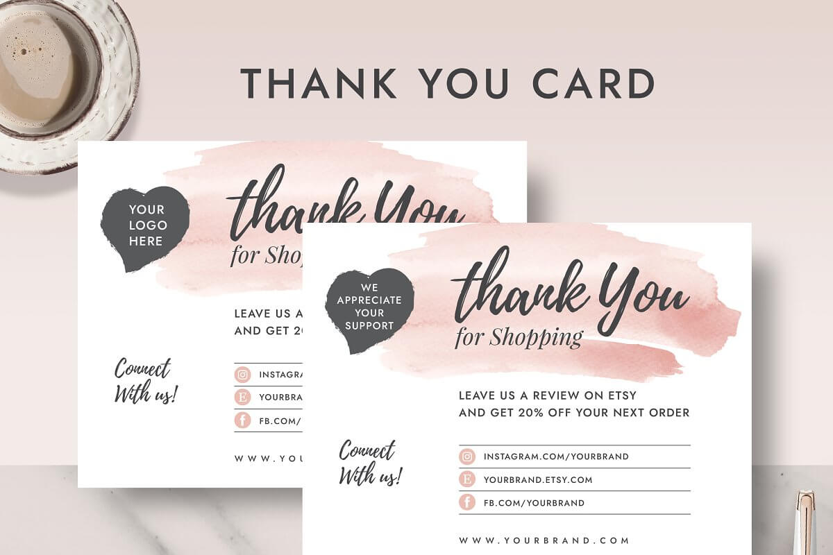Thank You Order Card TC001 (1)