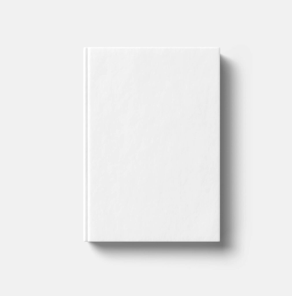 White Free Paperback Book Mockup PSD Template