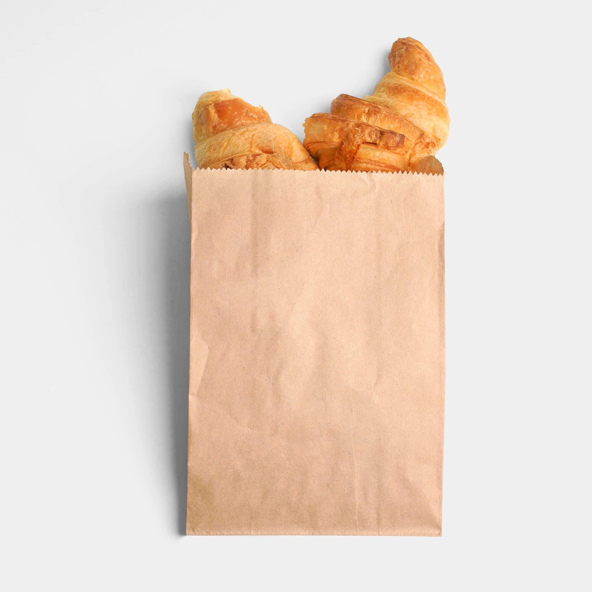Blank Free Bread Bag Mockup PSD Template