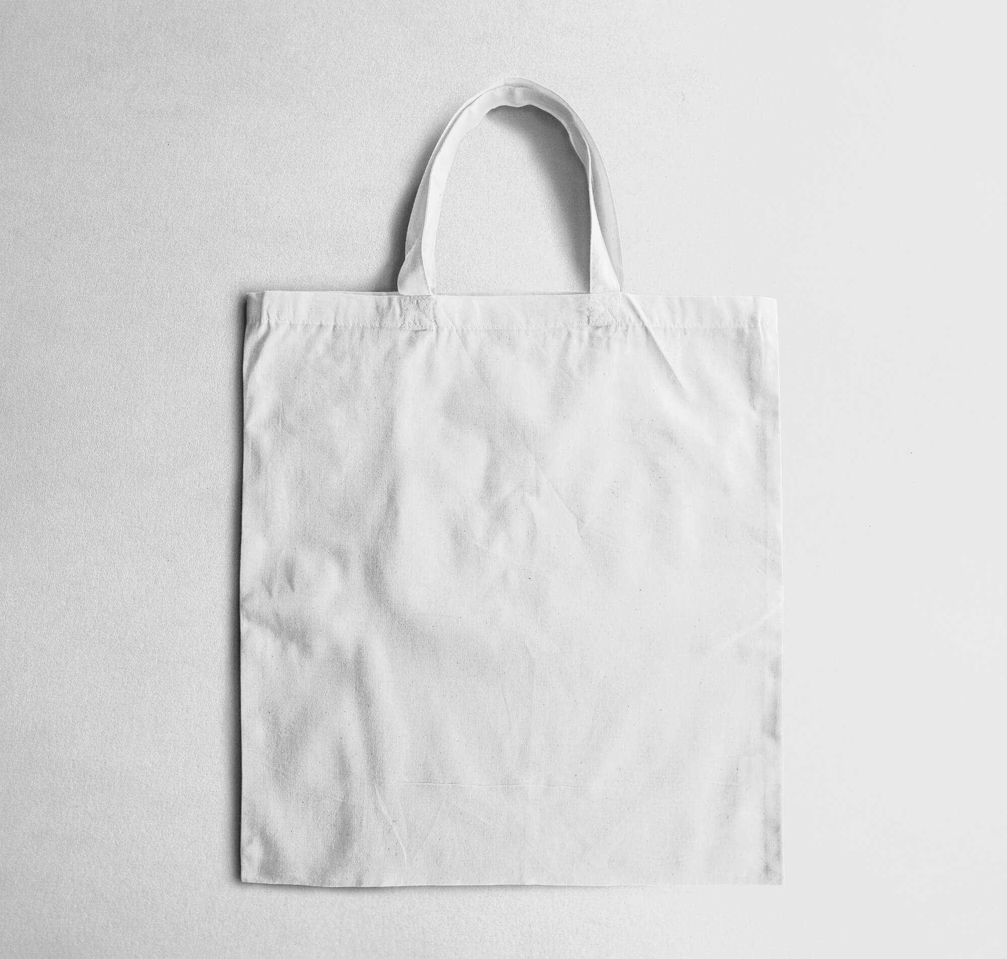 Blank Free Cloth Bag Mockup PSD Template