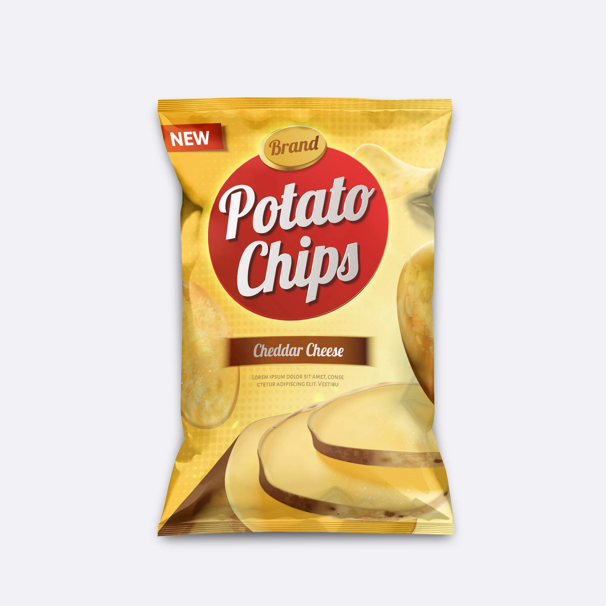 Design Free Chips Mockup PSD Template