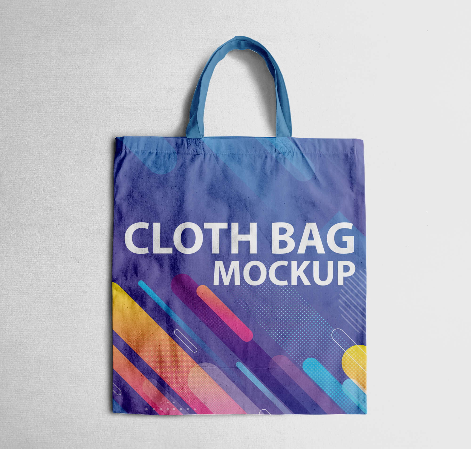 Design Free Cloth Bag Mockup PSD Template