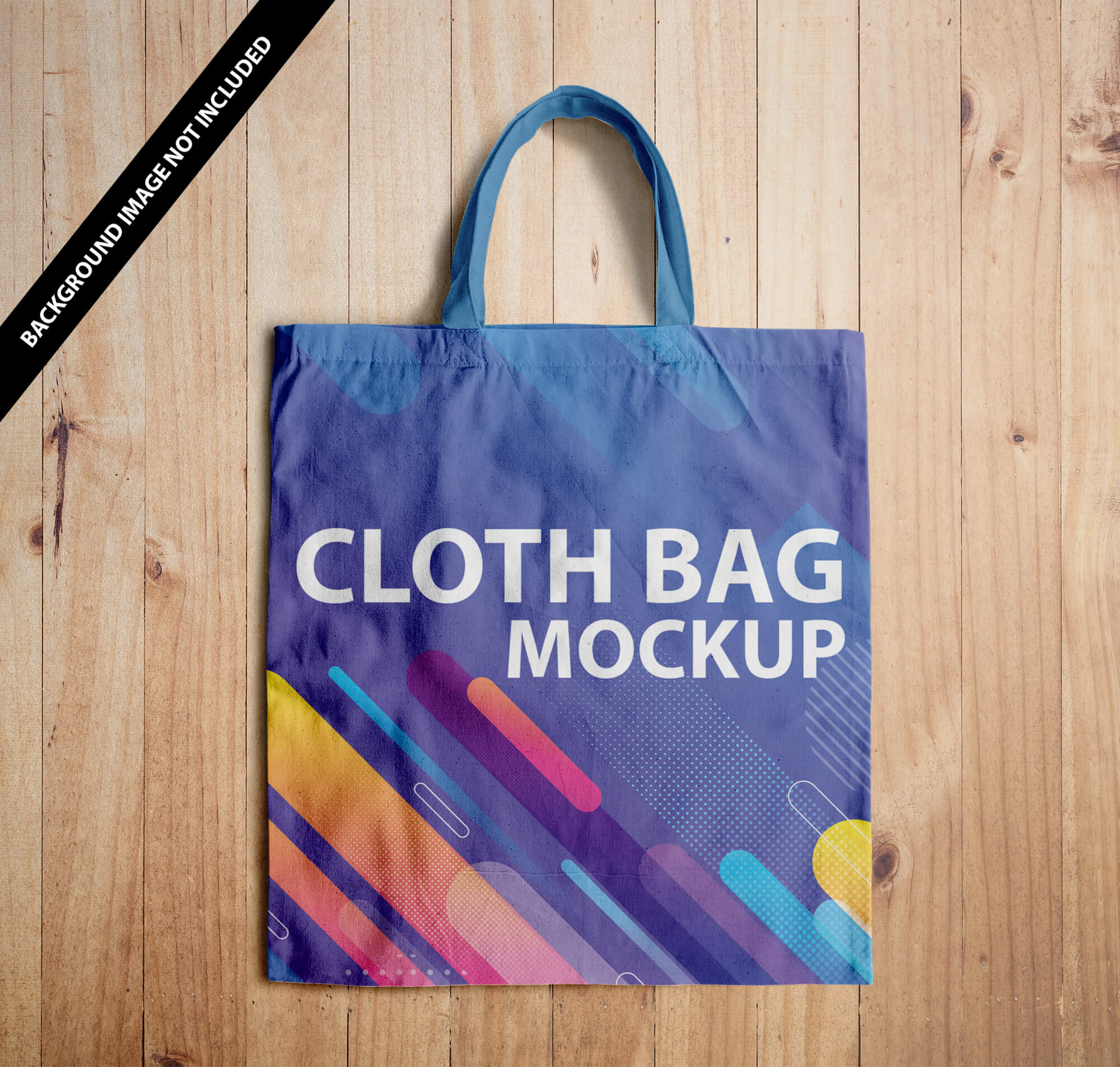 Free Cloth Bag Mockup Vol 2 PSD Template