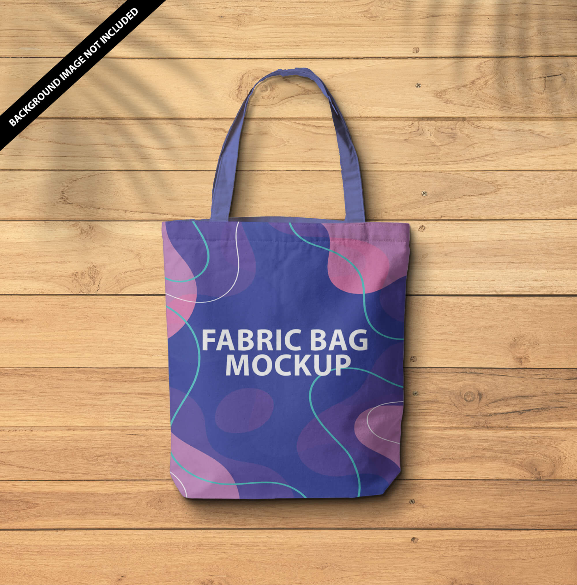 Free Fabric Bag Mockup PSD Template