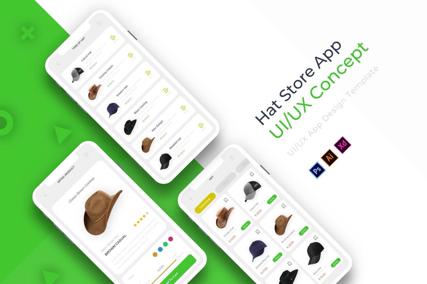 Hat Store App Template