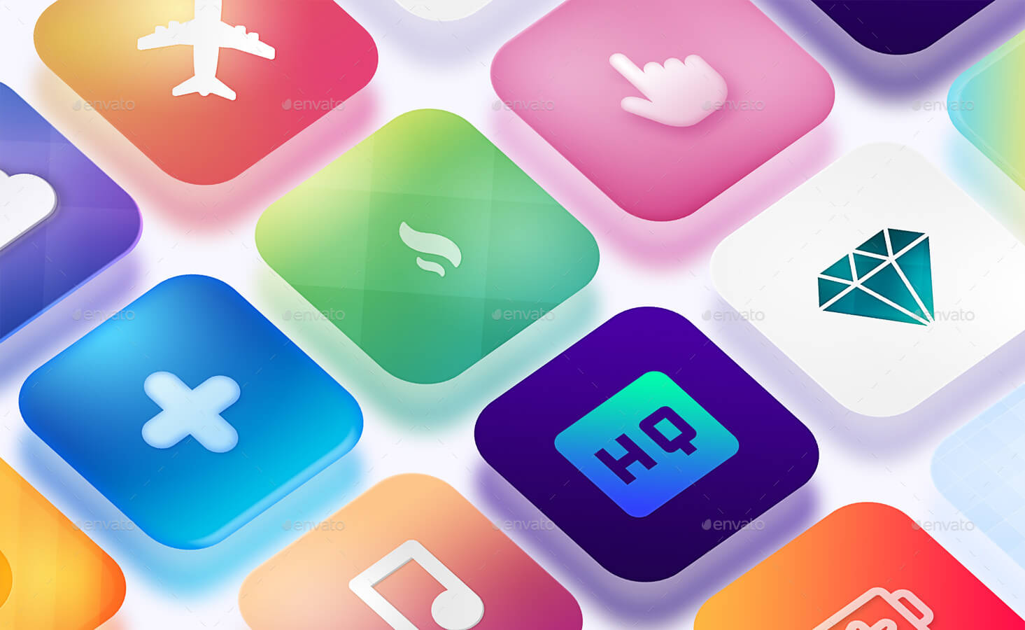 Icon App Maker - 20 PSD Mock-Ups