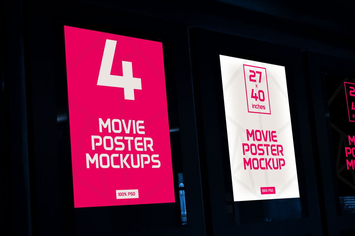 Movie Poster Mock-Ups