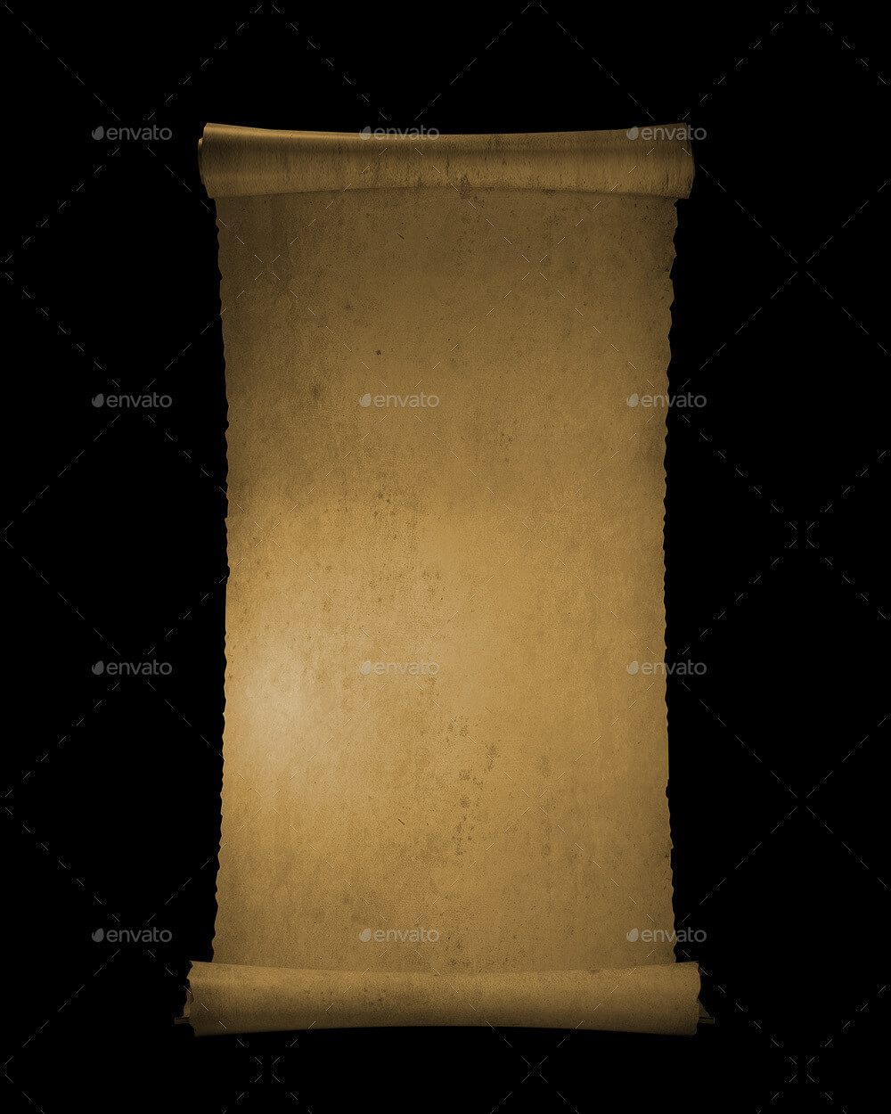 Paper Scroll PNG set