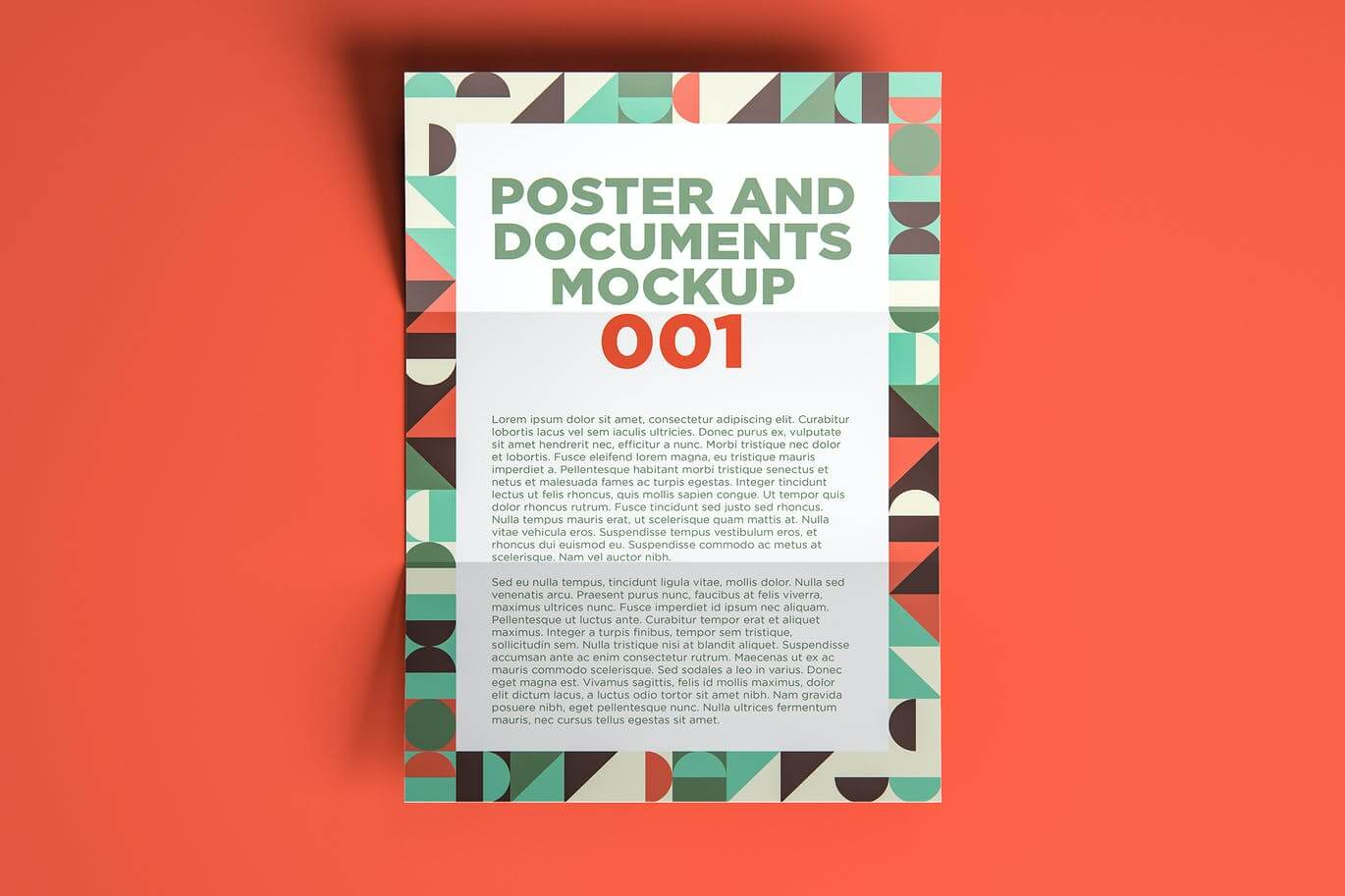 Poster And Documents Mockup 001