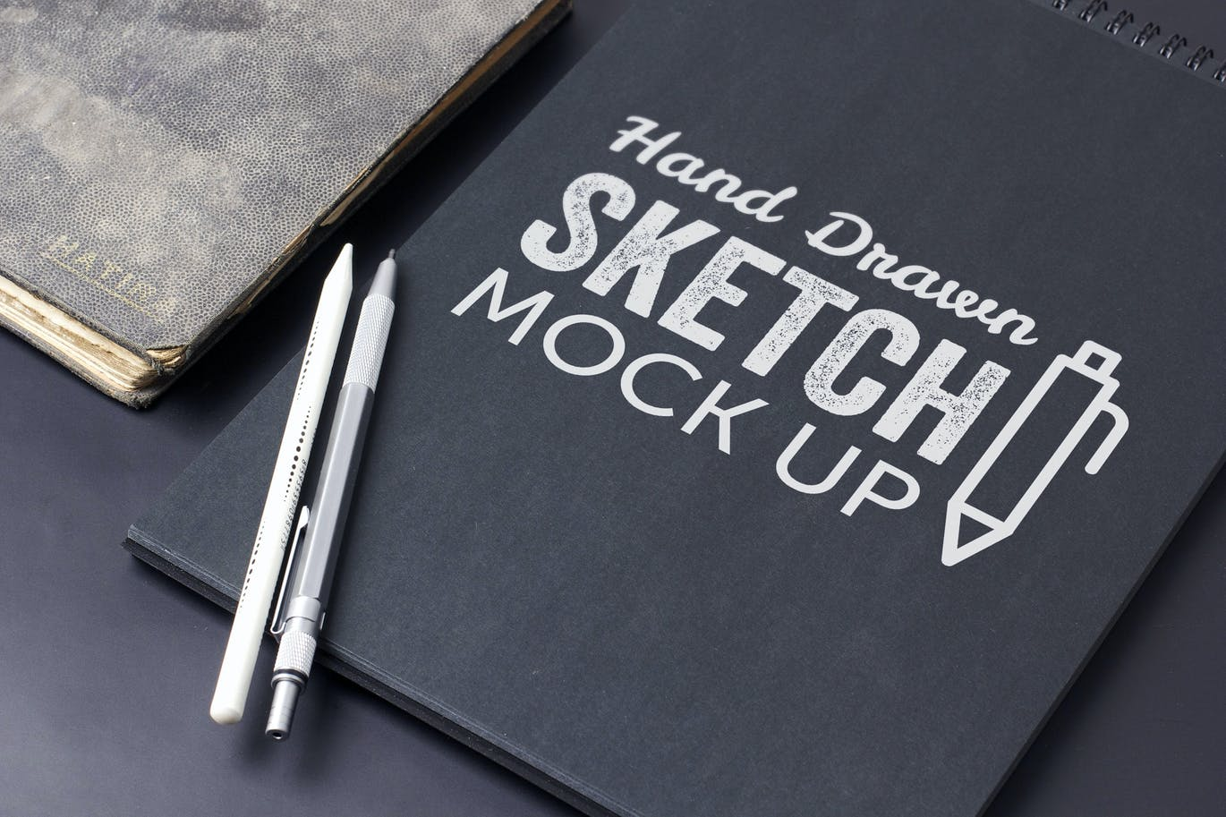 Sketch And Drawing Mockup Template #8