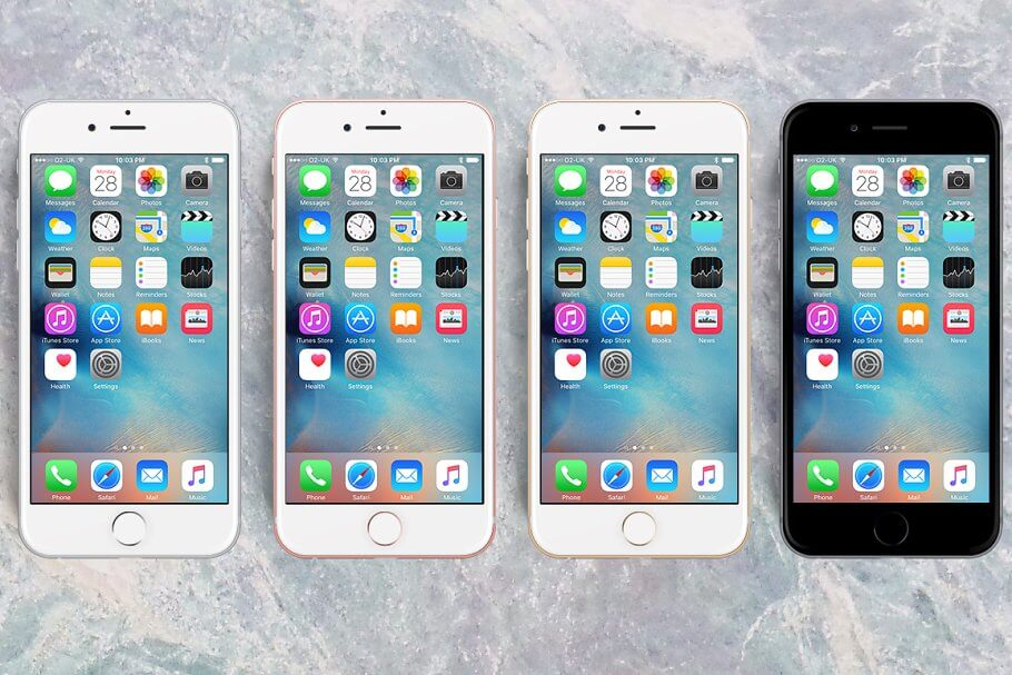 iPhone 6S PSD • Mockup all-in-one