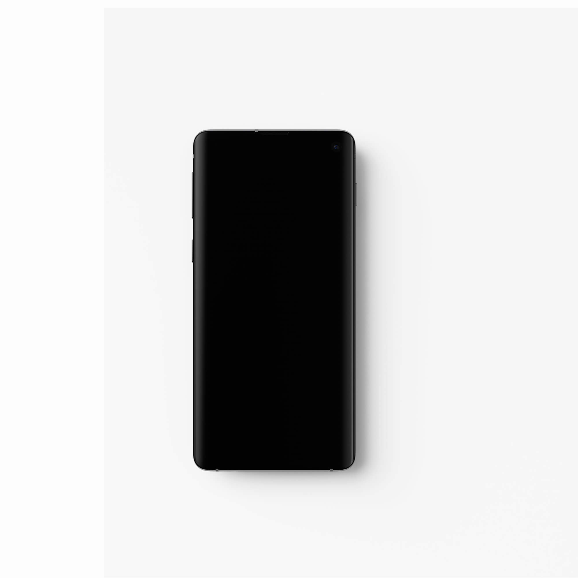 Blank Free Android Mockup PSD Template